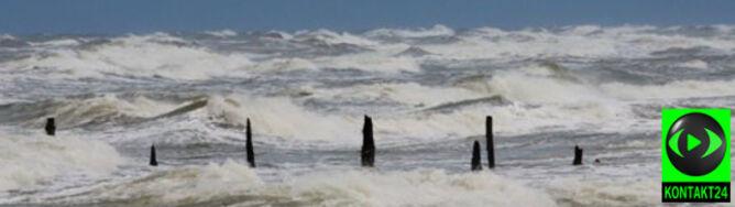 Uwaga na silny wiatr. Na Wybrzeżu do 90 km/h