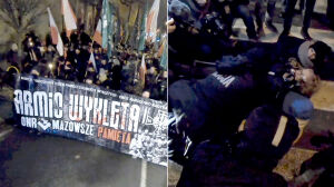 Zatrzymania podczas marszów w dniu Żołnierzy Wyklętych