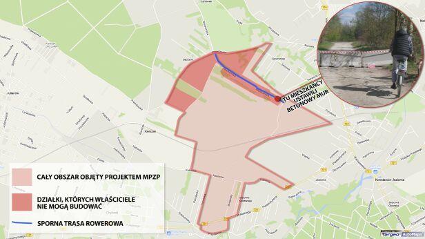 Konflikt w Konstancinie  targeo, tvnwarszawa.pl