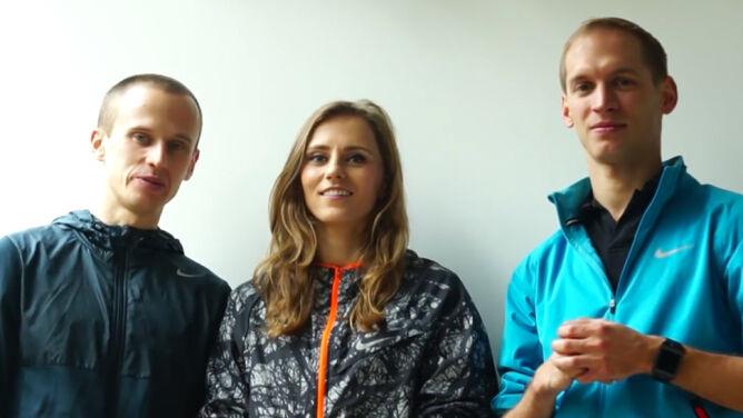 Pomóż polskim biegaczom przygotować <br />się do igrzysk olimpijskich