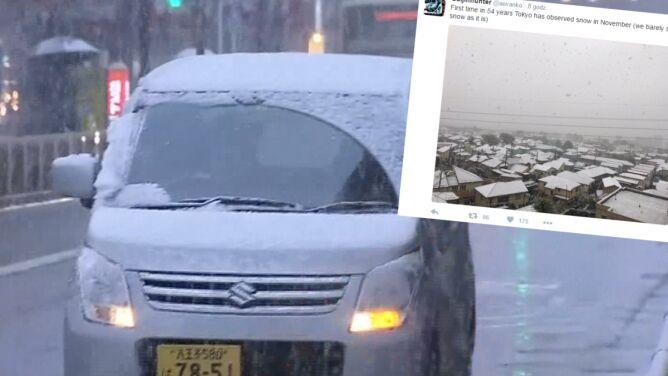 Pierwszy śnieg najwcześniej od 54 lat