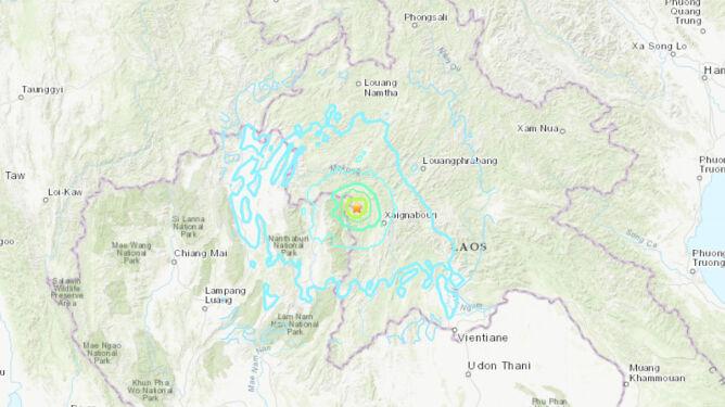 Silne trzęsienie ziemi w Laosie. Drgania odczuli mieszkańcy sąsiedniego kraju