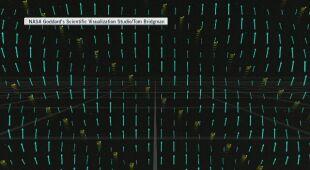 Dźwięki z Kosmosu - fale plazmy (NASA/ Goddatd's Scientific Visualization  Studio/Tom Bridgman/soundcloud.com)