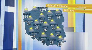 Agnieszka Cegielska o pogodzie w sobotę