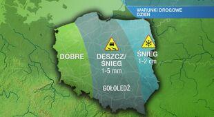 Warunki drogowe w środę 20.01