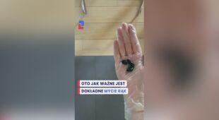Eksperyment z myciem rąk